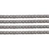 Delica 8/0 Rd Silver Matte Metallic